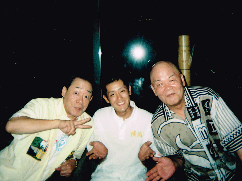 吉本新喜劇の島田一の介さん、島木譲二さんと
