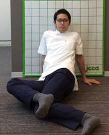 股関節の柔軟性2
