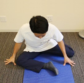 股関節の柔軟性3