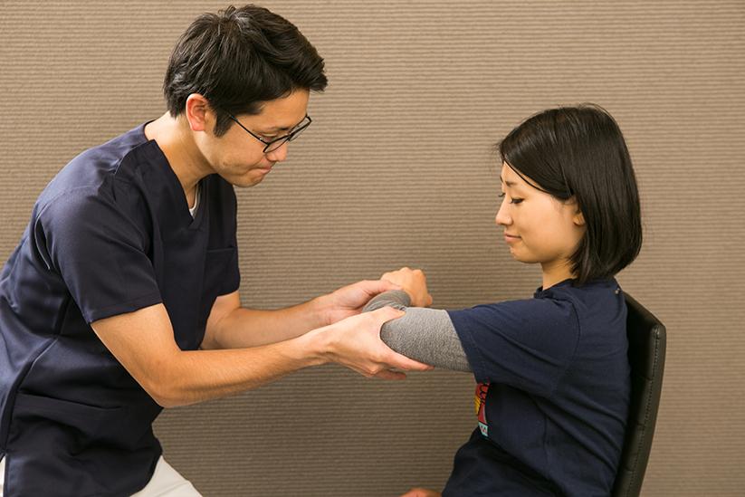 五十肩の局所の治療